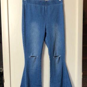 Women's Newberry Kustom Pull On Jeans Size Large